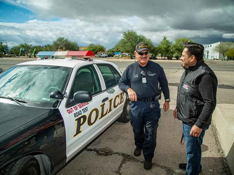 tucson police department glass repair