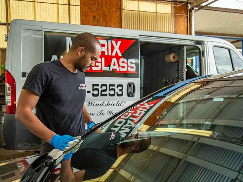 matrix auto glass installer